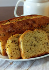 桃缶とHMで桃の紅茶パウンドケーキ