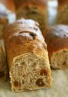 ぶどうと胡桃のパン □ホシノ天然酵母