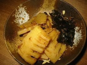 旬です♪筍と昆布の土佐煮