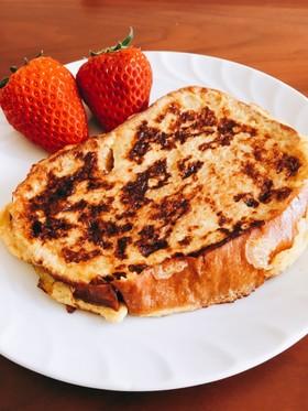 ふすまで低糖質*ふんわりフレンチトースト