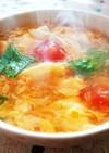 とろ〜り♪トマトと玉子のコンソメスープ