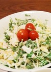 簡単☆水菜と大根のサラダ