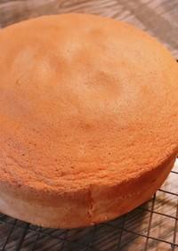 卵1個から作れる!材料簡単スポンジケーキ