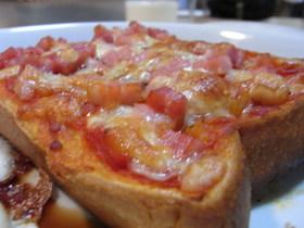 毎日食べても飽きない、ピザトースト