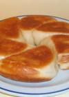 フライパンで焼くパン イタリア風のパン