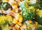 ブロッコリーとツナマヨコーンのサラダ