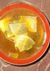長芋と大根の味噌汁