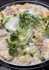 シメまで美味しい豆乳鍋
