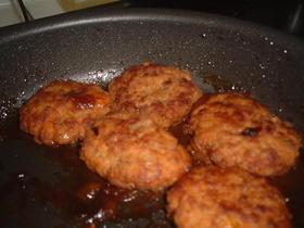 簡単☆煮込おからハンバーグ(卵・乳なし)