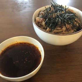 美味しい冷たい肉そばの真似(簡易レシピ)
