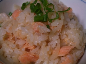 鮭と切干大根の炊き込み御飯