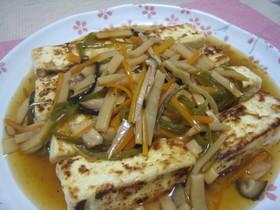 ☆食欲そそる~豆腐の中華あんかけ☆
