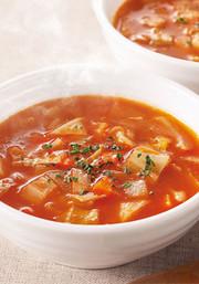 7品目不使用・トマトスープの写真