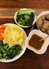 野菜嫌いが野菜を食べちゃう甘みそ♪