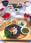 3月11日 献立 さつま揚げ 和朝食