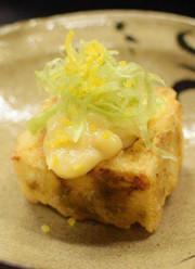 牡蠣の葛豆腐の写真