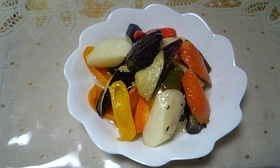 野菜を食べようマリネ