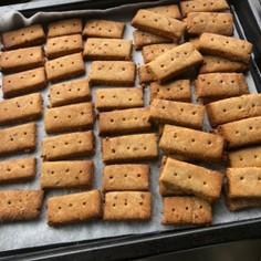 酒粕の黒糖クッキー