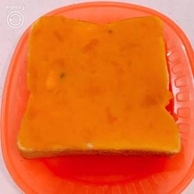 かぼちゃが甘くて旨い!パンプキントースト