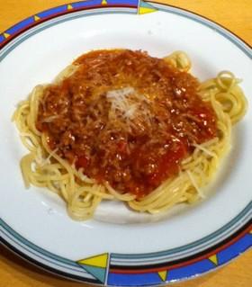 ドイツでも定番なスパゲティ・ボロネーゼ