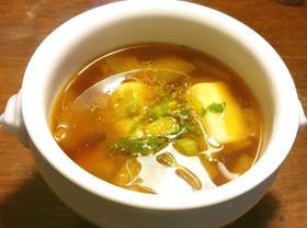 大根と高野豆腐の酒粕入りのお味噌汁