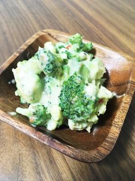 ブロッコリーとアボカドの濃厚サラダ