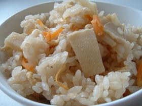 筍ご飯(炊き込み式)