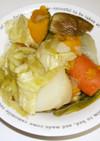 ダッチオーブンを使ったかんたん野菜煮込み