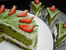 ♥あずき抹茶♥ ケーキ
