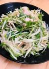 新玉と豚しゃぶのサラダ QC ポン酢ドレ