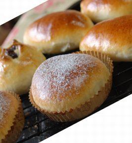 ふわふわ菓子パンの生地