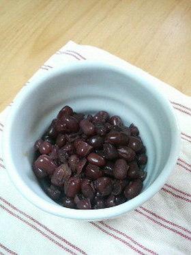 炊飯器で小豆を煮たよ(^^)