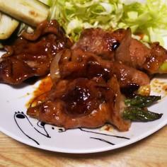 焼肉のタレで簡単アスパラの肉巻き