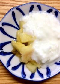 【離乳食】りんご 保存(冷凍)