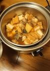電鍋で簡単!大根、厚揚げ、サバ缶の煮物