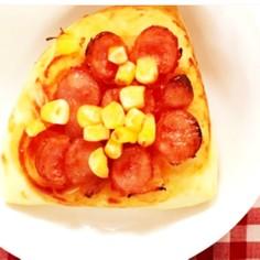 簡単小麦粉でピザ