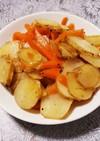 菊芋のオリーブオイル炒め