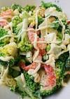 ブロッコリーと茹エビのサラダ