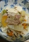 白菜とシーチキンの炊いたん