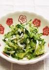 ☆副菜♪定番のきゅうり・しらすの和え物☆