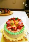 わくわく♡ひな祭りのケーキ