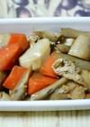 根菜と油揚げの煮物