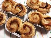 焼き芋入り!くるくるアップルパイの写真