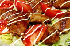 新玉ねぎの豚肉ロール