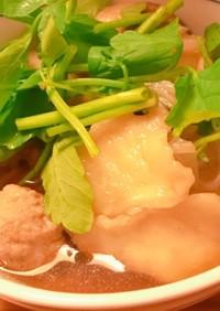 ひっつみ汁(せんべい汁) IN 八戸