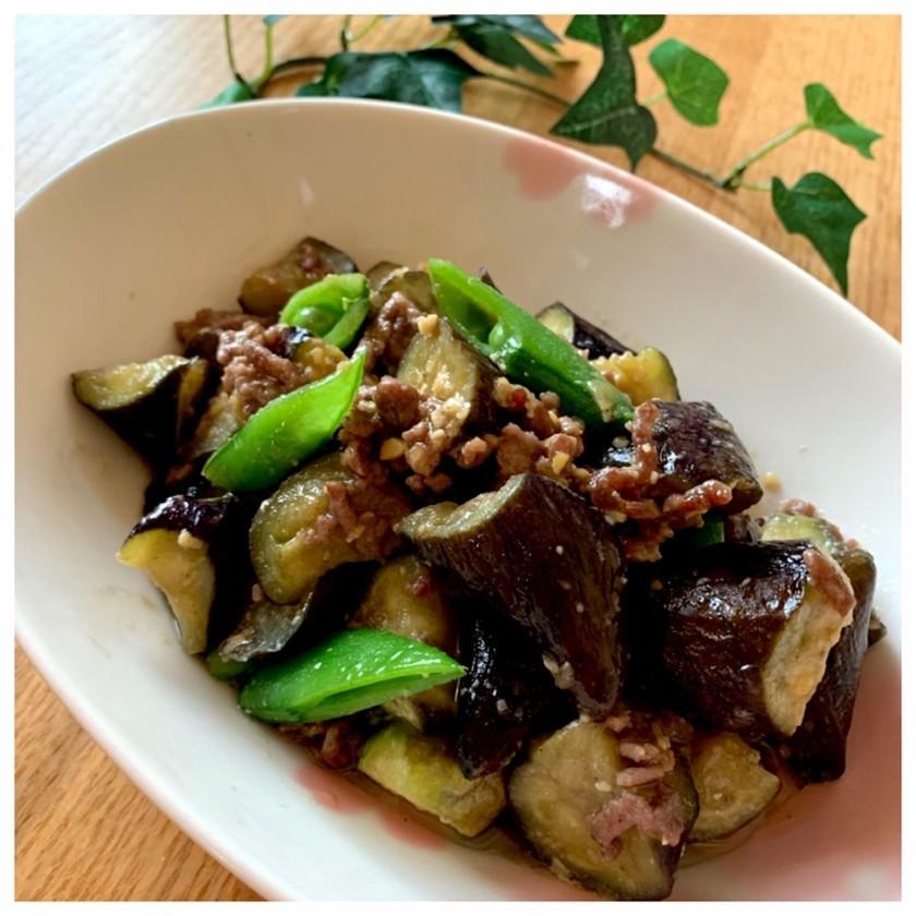 茄子とひき肉の味噌炒め簡単