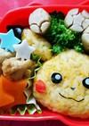 子ども喜ぶ 簡単 ピカチュウ 弁当