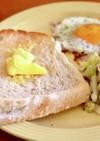 ホームベーカリーで簡単。もっちりご飯パン