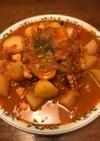 タコと大根のトマト煮