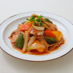 彩り野菜のつゆうま™ポークチャップ